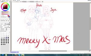 A Merry Xmas - WIP by JayEyBee
