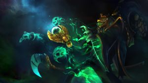Dota 2 - Necrophos set Loading screen by TrungTH