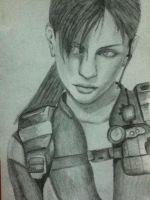 Jill Sketch 2 by lerod2