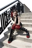 Cyber Goth Girl by Truly-Little-Alice