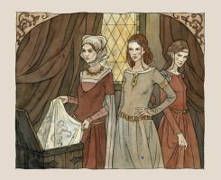 stepmother with daughters by liga-marta