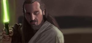 Qui Gon by Jafean