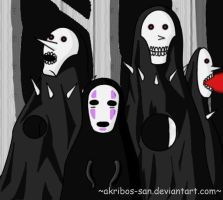 The Noface's lost family by Akribos-san