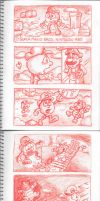 Pac-Man Mixtape Storyboard 05. by Atariboy2600