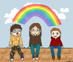 Rainbow Children by thekyrianne