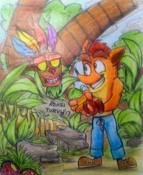 CB   I have a Wumpa fruit, wanna play? by RonsiTurvy