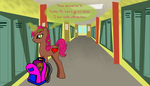First Day of School by IIICrewsalonian