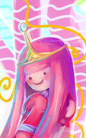 Princess Bubblegum by RavenNoodle