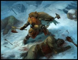 Bear Warrior by DenmanRooke