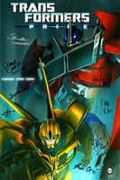 Signed TFP Poster - SDCC by Xainra