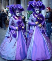 Carnival 2011 - Violet ladies by thejabawack