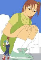 Digimon Giantess 2 by Final7Darkness