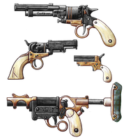 Gun Wall by Qsy-and-Acchan
