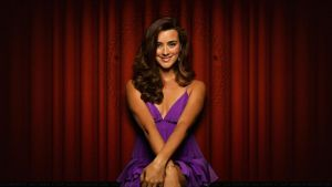 Cote De Pablo Red Curtain by Dave-Daring