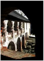 Window to the old monastery. by VeIra-girl