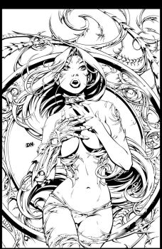 Witchblade Inks by shyft9
