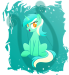 Lyra Heartstrings by rainbownspeedash