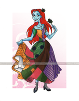 Princess Sally by Violet--Gypsy