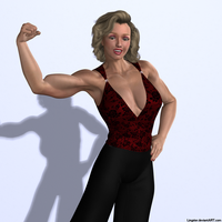 She Works Out by Lingster