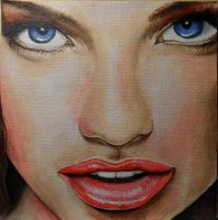Woman's Face by Launadoon