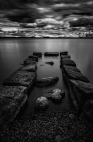 Before the storm II BW by PaVet-Photography