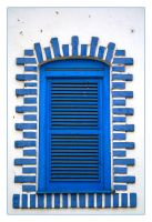 Blue Window by FilipaGrilo