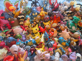Pokemon Figure Collection by Spufflez