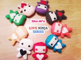 Love Ninja Plush by Shu-Ai