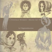 Vintage Women 1 by FidgetResources