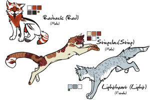 -TDE- ThunderClan Adopts v2 by Allizia