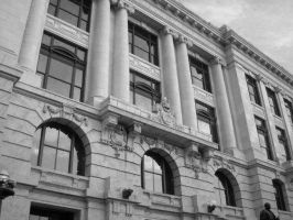 New Orleans Court House by nodestinationinmind