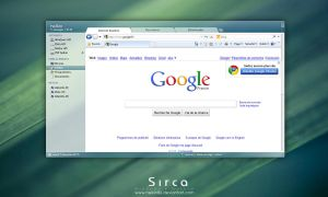 Sirca - Windows Mockup by helkin86