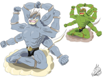 Pokemon Mega Evolution Contest: Machamp by MaximusEXE