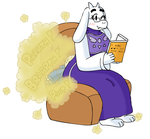 More Toriel Farts by awfulartistsketch