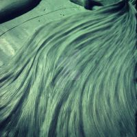 relieve detalle cabello by FrancoVillela