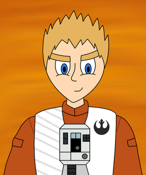 Star Wars Fan Character: Kev Sunstrider by Cameronwink