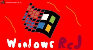 Windows Red by yonicdeviant