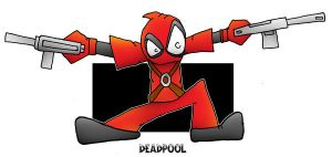 Lil' Deadpool by 5chmee