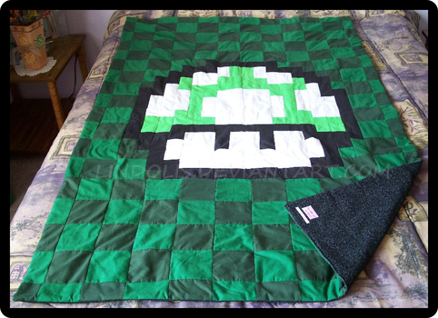 1UP Quilt by Lindolis