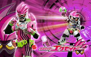 Kamen Rider Ex-Aid Action Gamer Wallpaper by malecoc