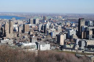 Montreal Skyline by morbiusx33
