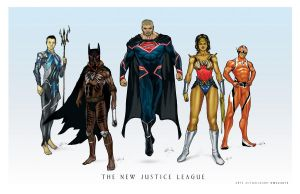 The New Justice League by Culterano7