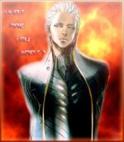 Vergil fire avatar by Alekssia