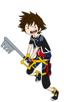 KH Time! - Sora by infinitehearts