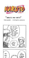 Naruto Doujinshi - Naruto and Obito by SmartChocoBear