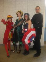gender bend Avengers Lolita group by Kasandra-Callalily