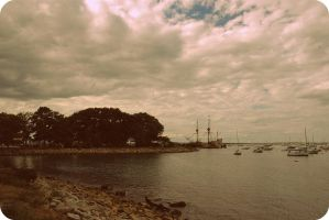 Plymouth Harbor by janhatesmarcia