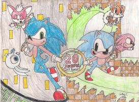 Sonic Generations - Contest entry by SkittsTheEchidna