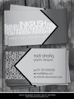Vector Business Card by inkrush