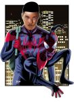 Ultimate  Spiderman Miles Morales art by JonathanPiccini-JP